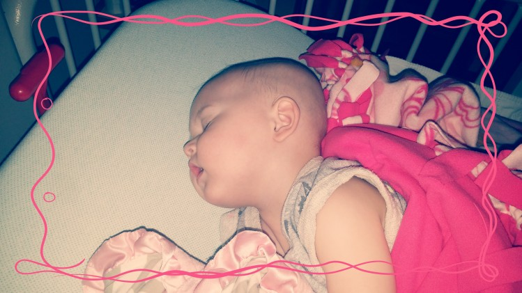 She sleeps peacefully and monsterless.