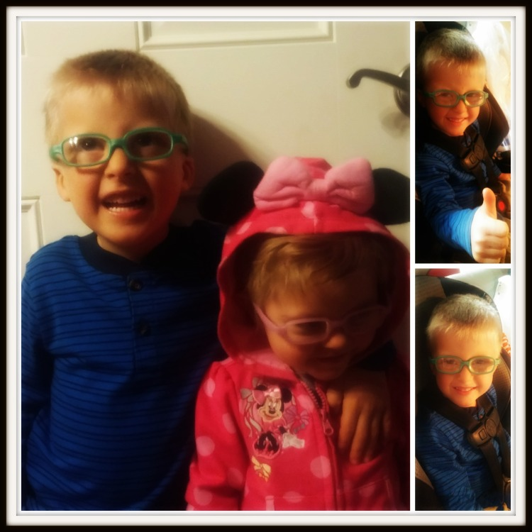 glasses collage
